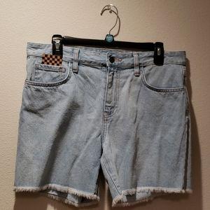 Van's Boyfriend Cut-off Denim shorts